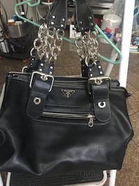 Prada leather sturdy Tracy, 95376