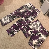 Baltimore Ravens Camouflage Cargo Pants and Shorts. Purchased back in 1996 (Ravens first year in NFL) Glen Burnie, 21060