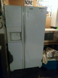 white side by side refrigerator with dispenser Knoxville, 37921