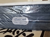 New Luxury Pocket Coil King Bed + Free Box Coquitlam