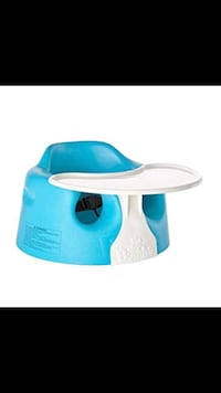 Gently used bumbo chair with tray and straps  St Thomas, N5P 2B7