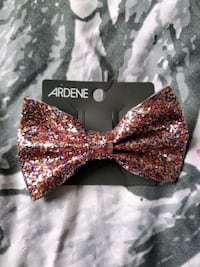 Glitter Bow Clip for hair