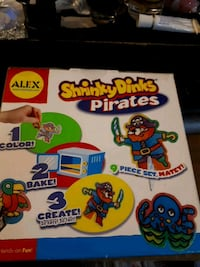 Alex shrinky dink pirates set  Edmonton, T5S 2B4