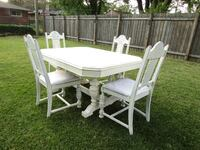 Antique Dinning Table & 4 Matching Chairs 390.00 obo Welland