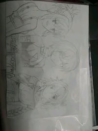 Selling anime drawing  Calgary, T2X