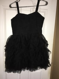 Black dress with fluffy skirt Edmonton
