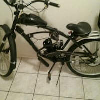 black and gray motorized bicycle Metairie, 70001