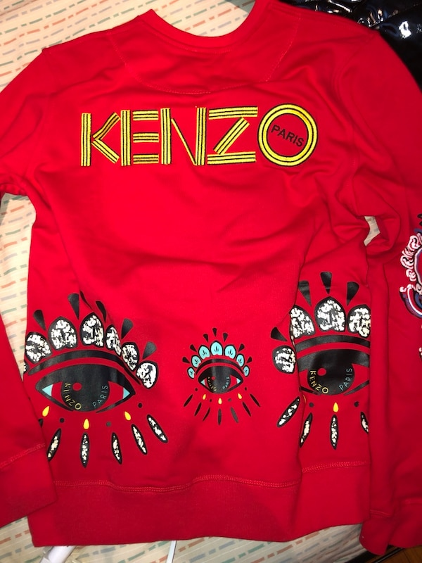 575eee6e9f Used Red kenzo sweater fits men's small for sale in Bellwood - letgo