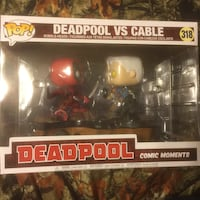 Funko pop! Deadpool vs cable Mesquite, 75149