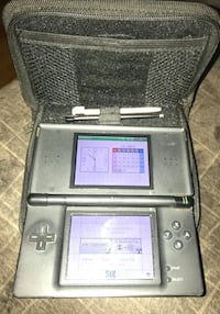 Black Nintendo Ds with case ..No charger or games