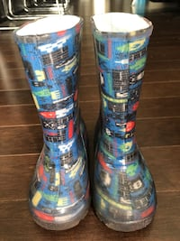 Rain boots for boys size 8