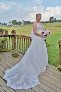Anjolique wedding dress HAGERSTOWN