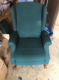 Reclining wing chair  Annandale