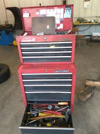red and black Craftsman tool cabinet Jackson, 39216
