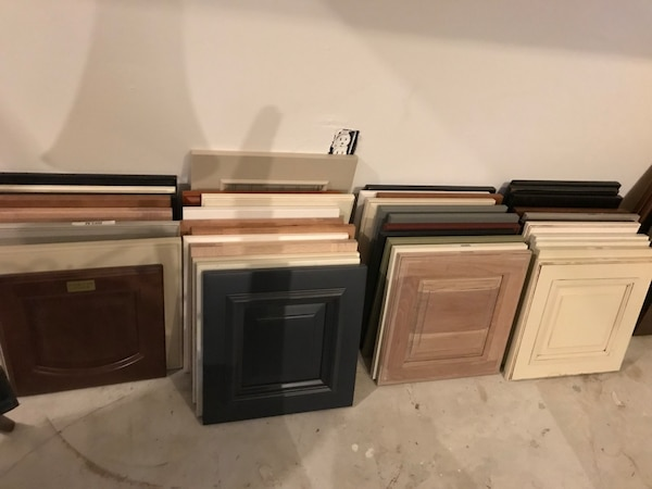 DIY kitchen cabinet doors for repurposing projects