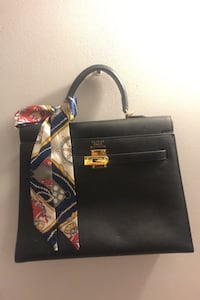 Hermes black bag Laval
