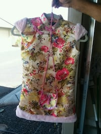 white, pink, and green floral sleeveless dress Ewa Beach, 96706