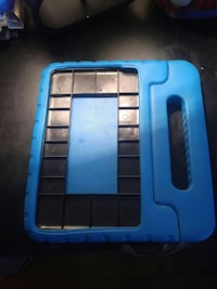 black and blue plastic organizer Laval, H7N 2C6
