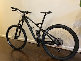 Full Suspension 29er Mountain Bike (MTB)