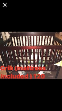 Crib (Mattress Included) Cleveland, 37323