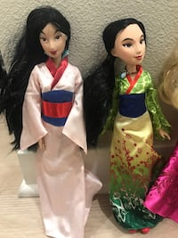Mulan Barbie  Walnut, 91789
