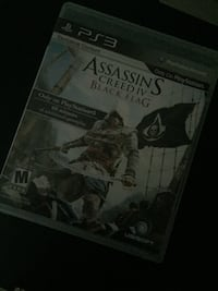 PS3 Assassin's Creed 4 Black Flag game case