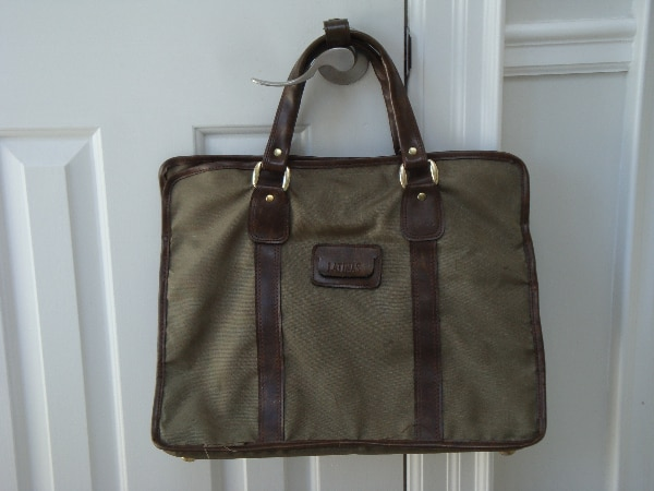 Large carry on travel bag.