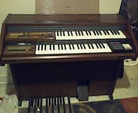 brown and white upright piano Columbus, 43209