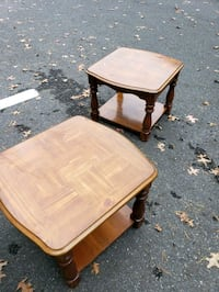 2 end tables . Waltham, 02452