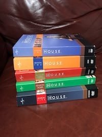 House M.D. DVD sets S1-5 Warwick, 02889