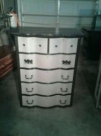 white and brown wooden 4-drawer chest Hagerstown