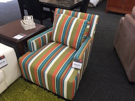 Multi-Colored Accent Chair