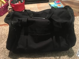 Rolling duffle bag/suitcase