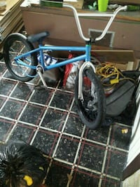 blue and black gt BMX bike Sault Ste. Marie, P6A 2L2
