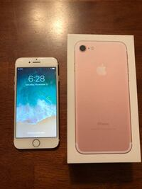 iPhone 7 Rose Gold  3711 km