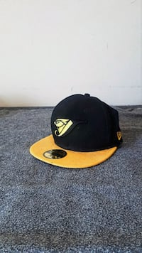 black and yellow fitted cap Richmond, V6X 0J4