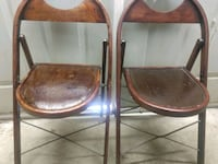 2 Vintage Folding Chairs Annapolis, 21403
