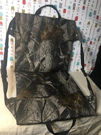 Camouflage Hunter's Specialties Foam Seat With back(Firm Price) Pick Up Only )No Holds  Summerville, 29486
