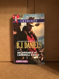 Deliverance at Cardwell Ranch by B. J. Daniels book Raleigh, 27606