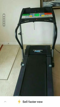 Black and Grey Pro-Form XP Treadmill