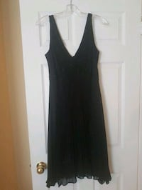 black v-neck sleeveless dress Vaughan, L6A 1G6