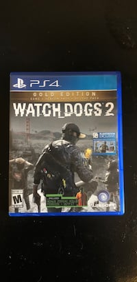 Watch Dogs 2 PS4 game case Palm Bay, 32909