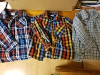 3 plaid shirts Columbia, 21044