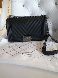 Chanel le boy cabir leather Mississauga, L5W 1P1