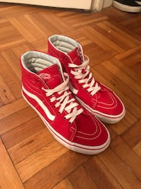 Vans red Sk8-Hi sneakers Washington, 20002