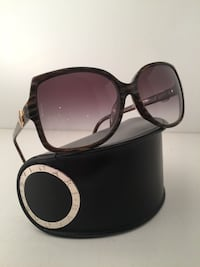 Authentic Bvlgari petrified wood looking plastic frame sunglasses - like new! Toronto, M2M 4M3