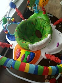 baby's green and blue jumperoo Mississauga, L5A 3M4