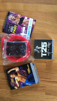 Hip Hop Abs + Focus T25 - from Beachbody NOT USED 264 mi