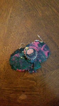 New Hand painted earrings by me Washington