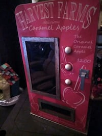 Candy Apple Cabinet